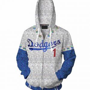 Elton John Dodgers Rocketman Hoodie