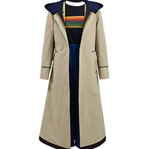 13th Doctor Who Hooded Coat