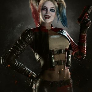 Injustice 2 Harley Quinn Jacket and Vest