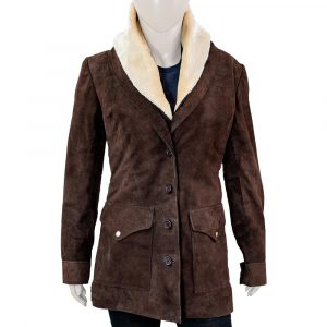 Yellowstone Beth Dutton Wool Blend Coat