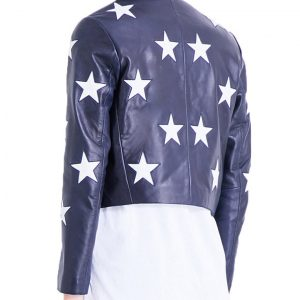 Riverdale Cheryl Blossom Star Printed Jacket