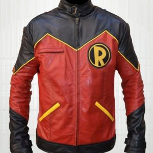Tim Drake Robin Leather Jacket
