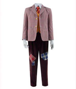 Arthur Fleck Joker Checkered Blazer