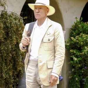 Star Trek Picard Jean-Luc Picard Off-White Coat