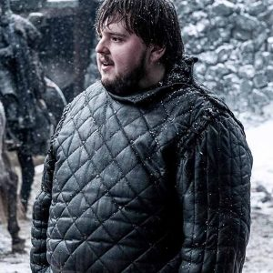 JOHN BRADLEY GAME OF THRONES QUILTED LEATHER JACKET