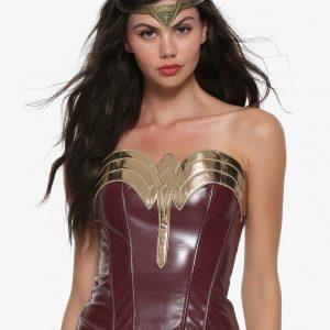 Wonder Woman Princess Diana Corset Costume