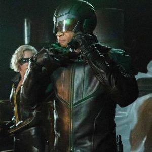 Arrow S08 John Diggle Spartan Jacket