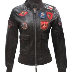 Top Gun Womens Vegan Jacket