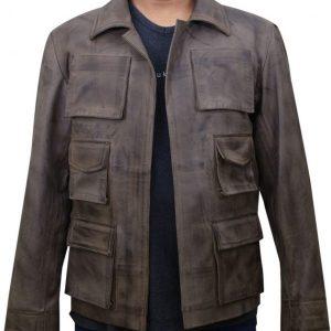 Mortal Kombat X Jason Leather Jacket