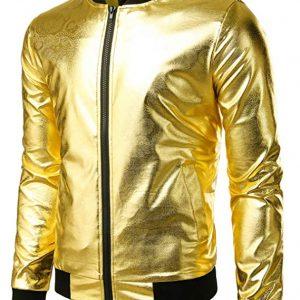 Elton John Rocketman Golden Jacket