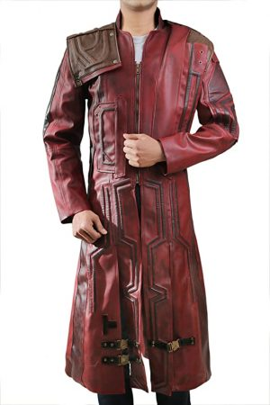 Guardians of The Galaxy 2 Star Lord Trench Coat