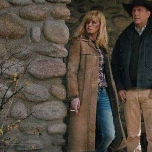 Yellowstone S02 Beth Dutton Leather Coat