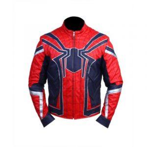 Avengers Endgame Spider-Man Jacket