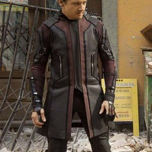 Avengers Age of Ultron Jeremy Renner Hawkeye Coat