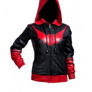 BATWOMAN KATHERINE KANE LEATHER JACKET