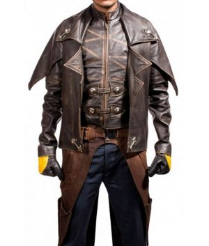 Star Wars The Clone Wars Cad Bane Leather Jacket