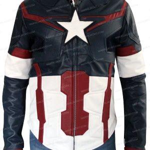 Captain America (Chris Evans) Avengers Age of Ultron Jacket