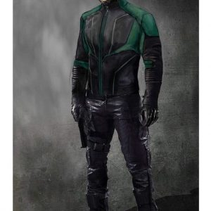 Arrow Season 8 John Diggle Green Lantern Jacket