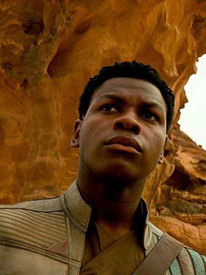Star Wars The Rise of Skywalker Finn Leather Vest