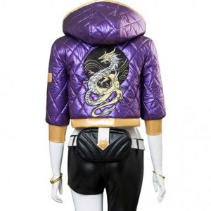 League Of Legends Akali Quilted Jacket