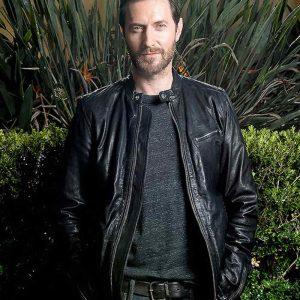 Lucifer Morningstar Black Leather Jacket