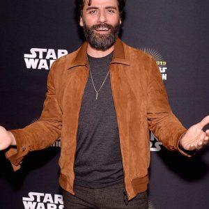 Oscar Isaac Star Wars IX Event Jacket