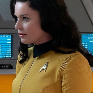 Rebecca Romijn Star Trek Discovery Number One Yellow Jacket