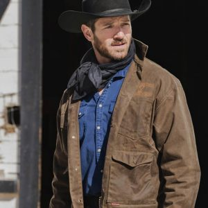 Yellowstone S03 Ian Bohen Brown Jacket