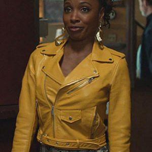 Shanola Hampton Shameless Yellow Jacket