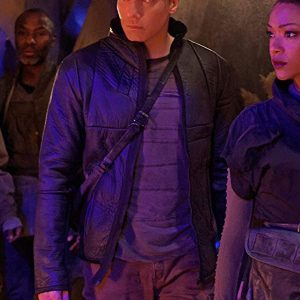 Anson Mount Star Trek: Discovery Leather Jacket