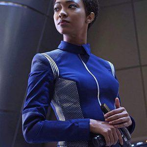 Star Trek Discovery Michael Burnham Blue Uniform Jacket