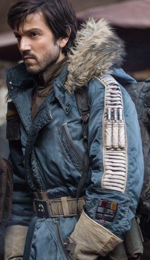 Parka Captain Cassian Andor Jacket - Rogue One: A Star Wars Story