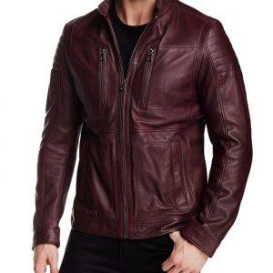 Oliver Red Aviator Cafe Racer Jacket