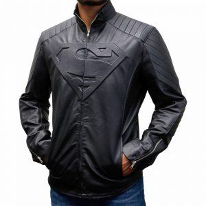 Superman Smallville Black Jacket