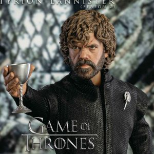 TYRION LANNISTER GAME OF THRONES BLACK LEATHER VEST