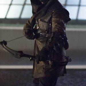 Arrow Malcolm Merlyn Dark Archer Coat