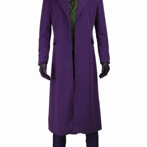 Joker Dark Knight Long Cotton Coat