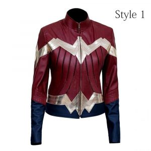 Wonder Woman Casual Leather Jacket