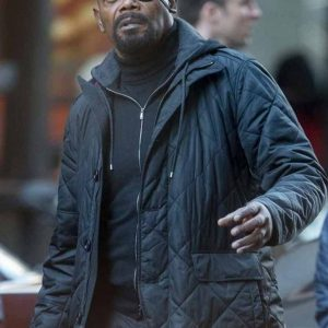 Spider-Man Far From Home Nick Fury Black Jacket