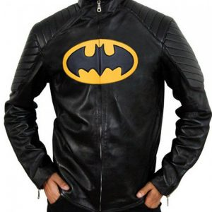 The Classic Batman Lego Leather Jacket