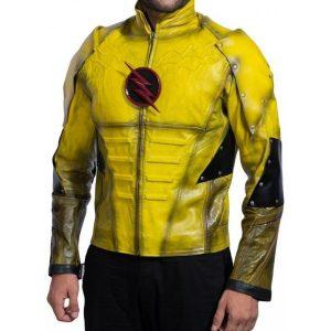 Reverse Flash Leather Jacket