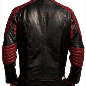 Superman Black and Maroon Jacket
